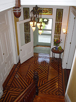 Cooperstown Bed and Breakfast Main Entrance and Stairs