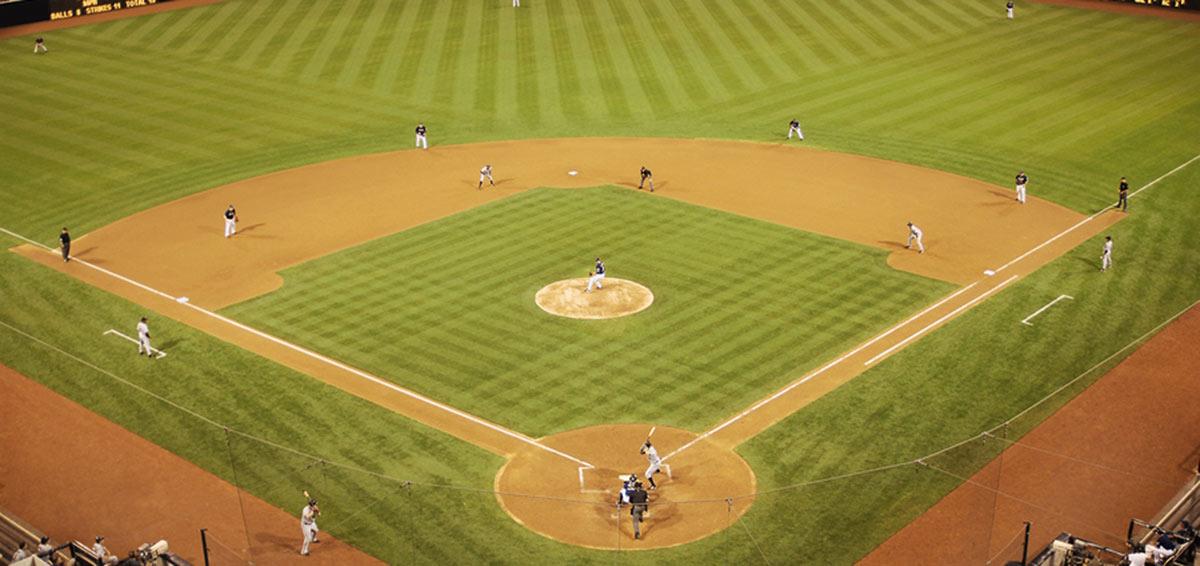 Cooperstown Baseball Hall of Fame - Baseball Diamond