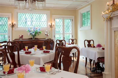 Cooperstown NY Lodging - Gourmet Breakfast