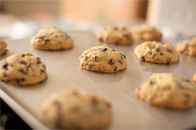 Fresh cookies baked daily - Exceptional Cooperstown Lodging