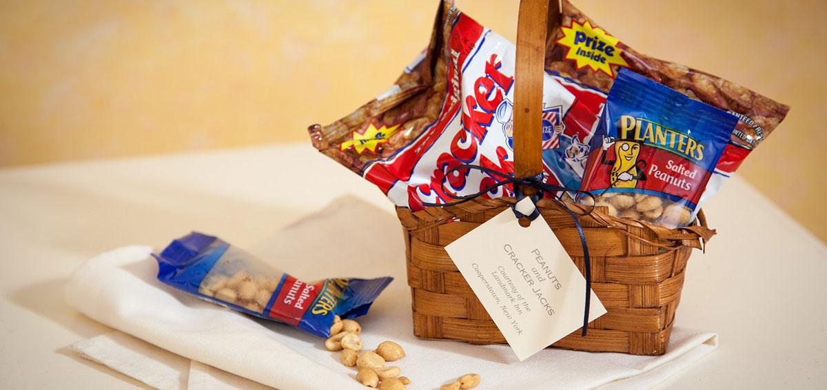 Cooperstown Baseball Hall of Fame -Cracker Jacks