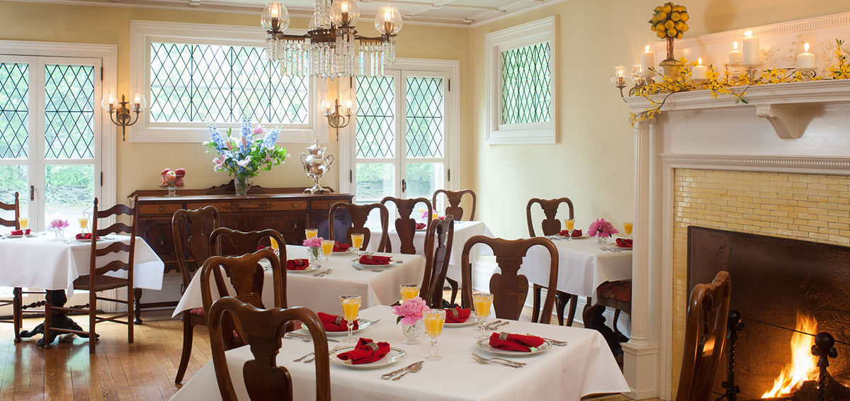 Cooperstown NY Lodging - Breakfast Dining Room
