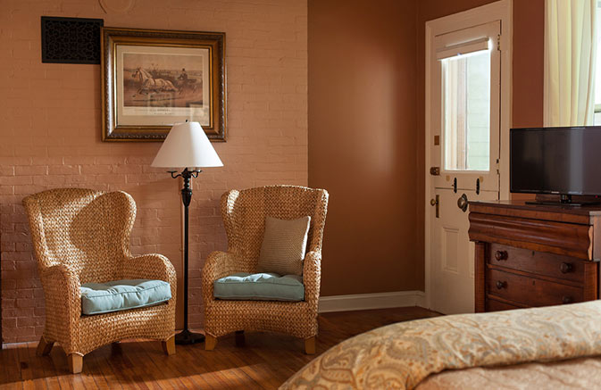 Private Entrance in a Cooperstown NY Hotel Suite