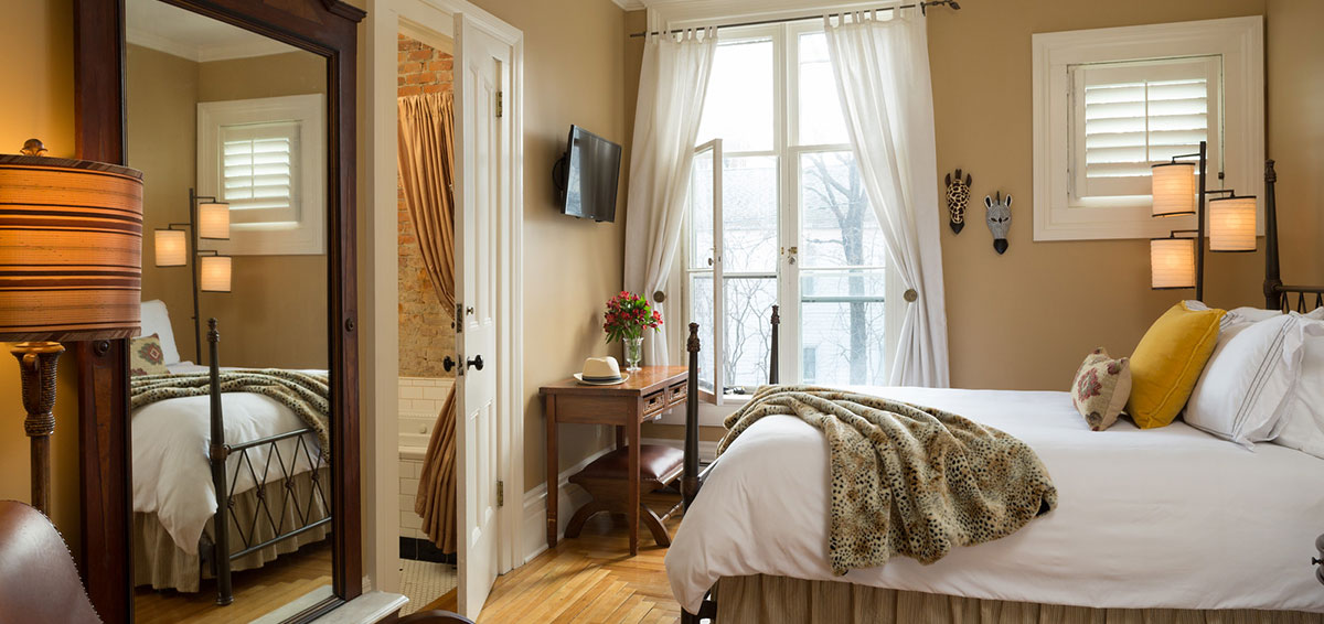 Cooperstown NY Bed and Breakfast - Hemmingway Room