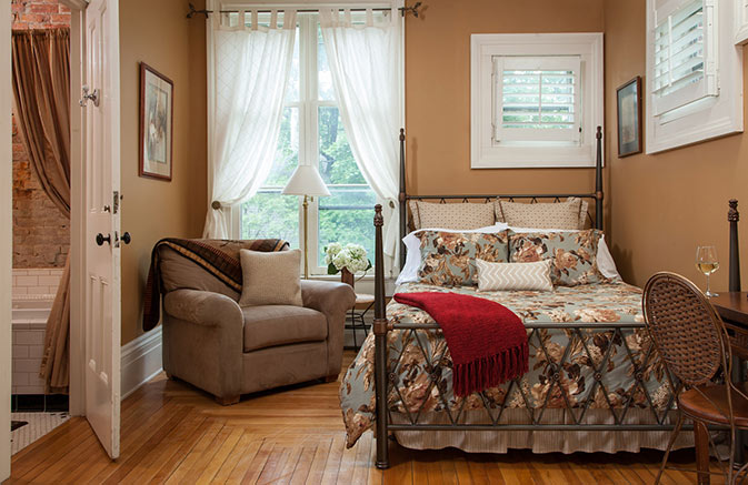 Room in a Cooperstown NY B&B
