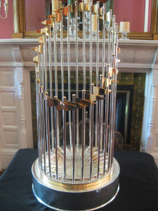 2012 World Series Trophy