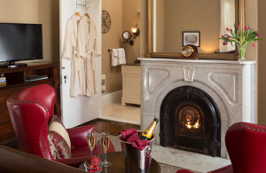 romantic winter getaway in Cooperstown, NY