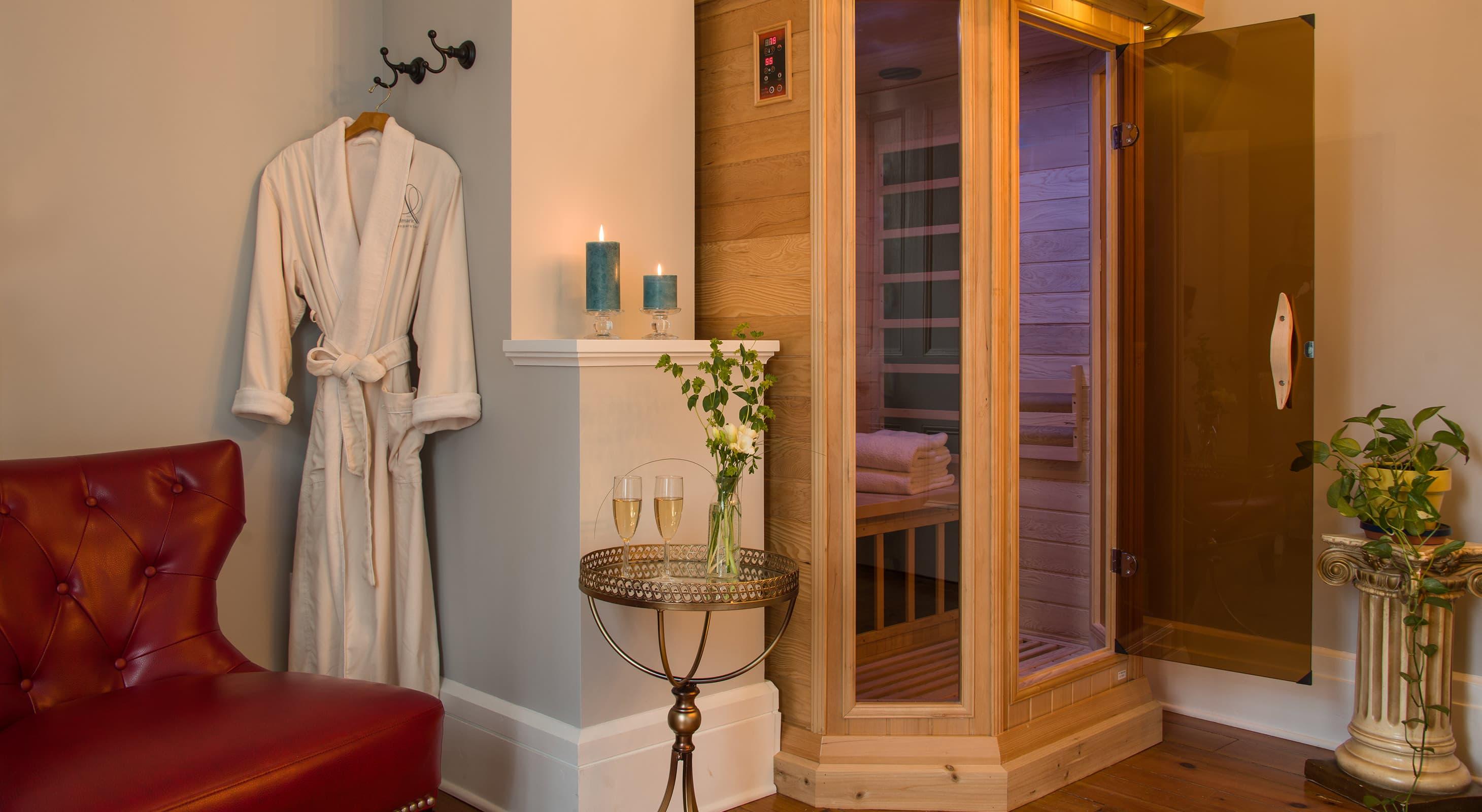romantic room for a honeymoon