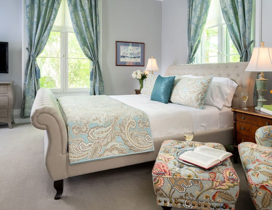 Bedroom in the Summer Suite - Upstate NY Bed and Breakfast
