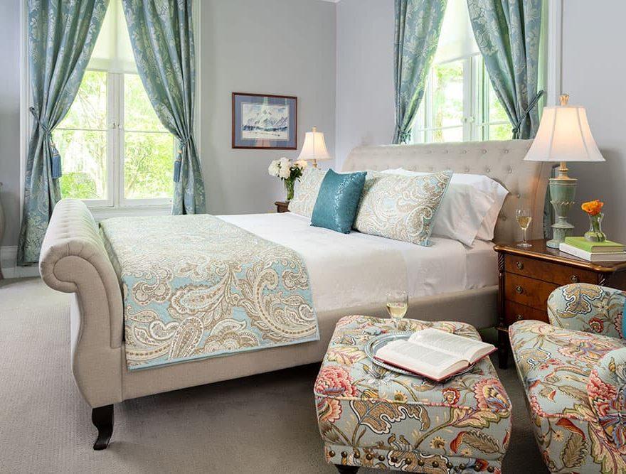Bedroom in the Summer Suite