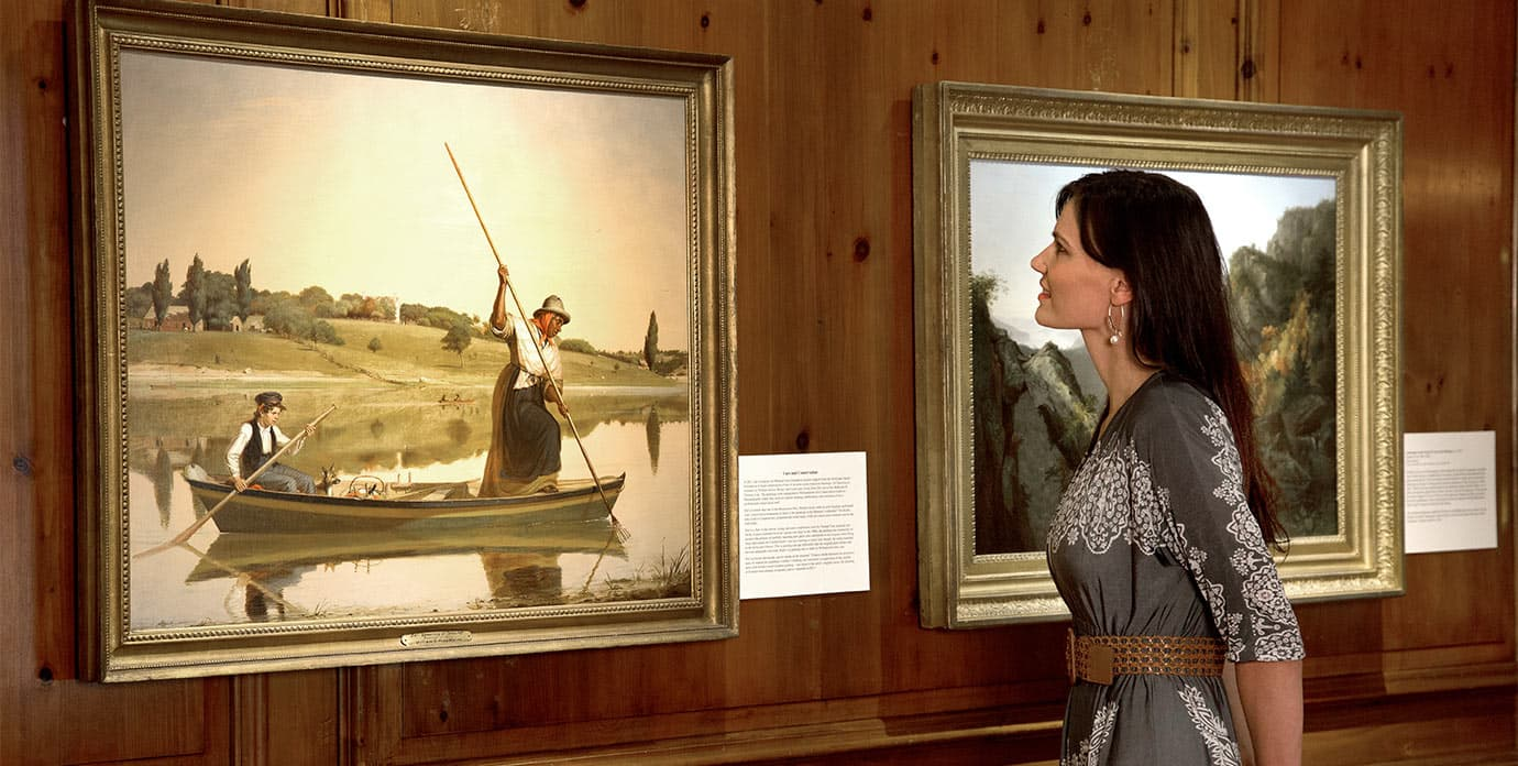 Fenimore Art Museum - Woman Looking at Painting
