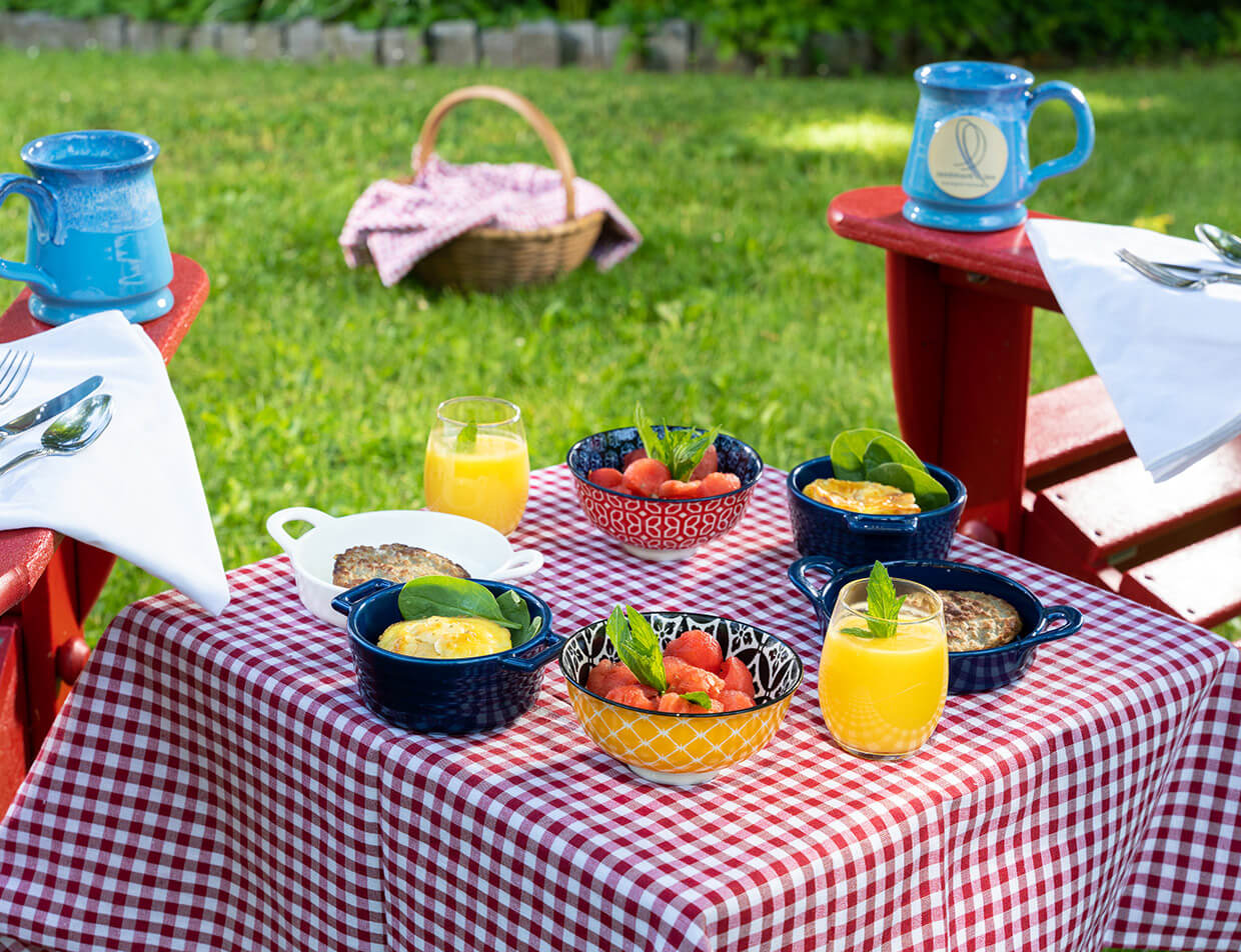 Upstate NY Boutique Hotel Breakfast Picnic