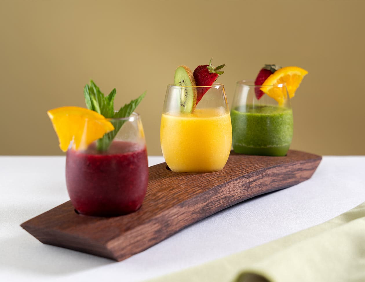 Flight of Smoothies